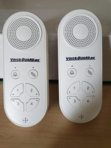 Portable Voice Play Alarm Unit 8 zones and 2 bell zones